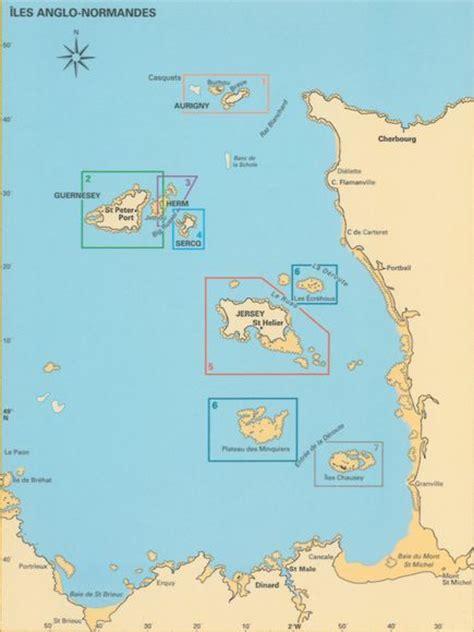 0004490363 carte touristique jersey en carte des iles anglo normandes voyages cartes