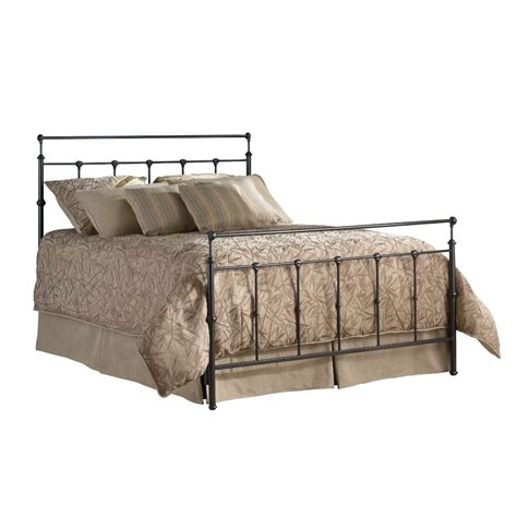 metal headboard bed queen size metal bed with headboard and footboard in