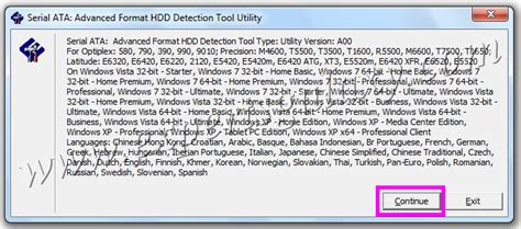 html format detection how to check if your hard drive is in advanced format or