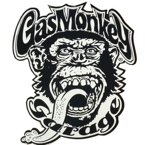 Gas Monkey Aufkleber by The Gallery For Gt Gas Monkey Sticker