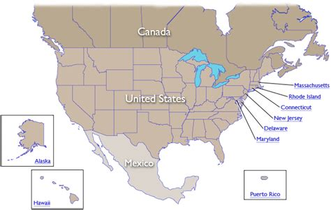 map of us canada and mexico map of united states and canada and mexico