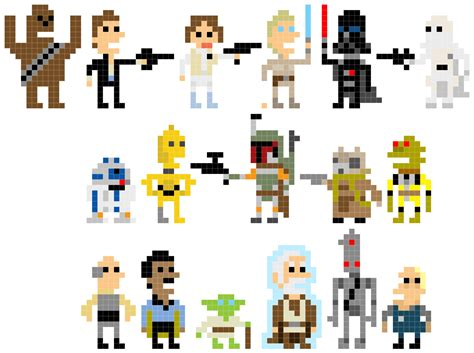 pixel wars pixel star wars welcome back to the 8 bit days bit rebels