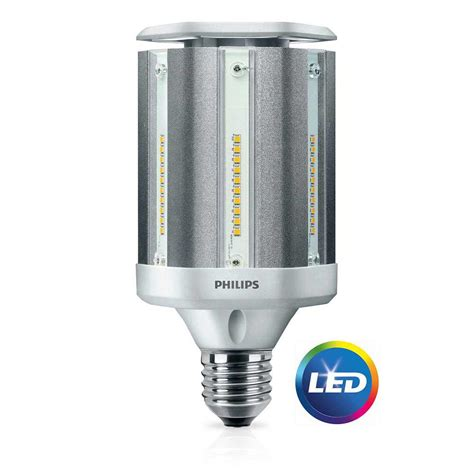 phillips led light bulbs philips 100w equivalent daylight ed28 hid post top led