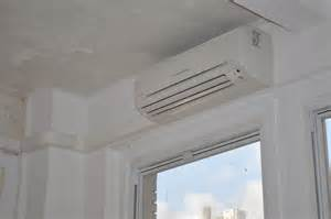 Wall Mounted Ac Unit Ny Nj Ductless Air Conditioning Installation Photo Video