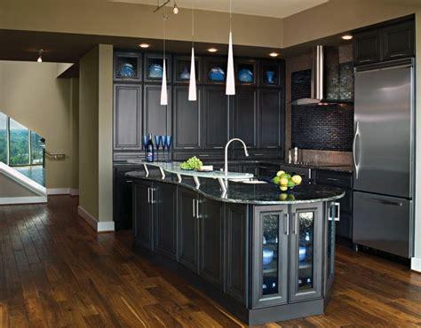 Gunmetal Kitchen Transitional Kitchen With Gunmetal Blue Cabinets By