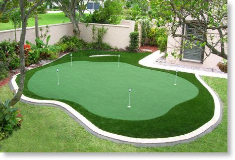 backyard putting greens do it yourself large and