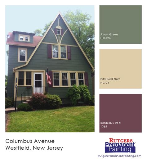 inspiration westfield tudor in green burgundy colors avon green bordeaux