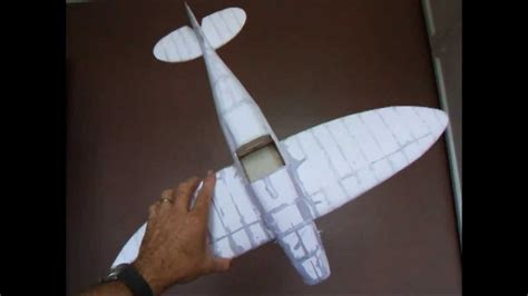 How To Make A Paper Spitfire - building a model spitfire out of card and paper 2
