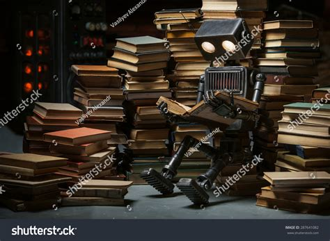 robot reading robot reading how to master your attention and focus your reading speed remember more learn faster and get more done in less time books robot child reading a book in the workshop of its creator