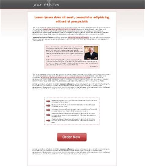 free landing page templates for blogger free professional landing page template download