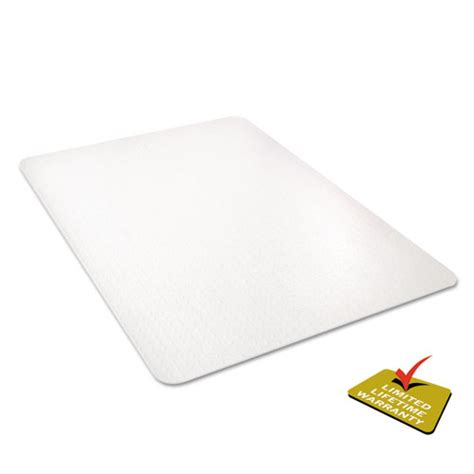 Deflecto Mats by Deflecto Cm11442fpc Clear Polycarbonate All Day Use Chair Mat