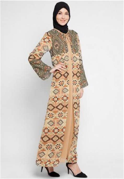 desain gamis sarimbit 100 gambar desain gamis batik elegan dengan 25 model baju
