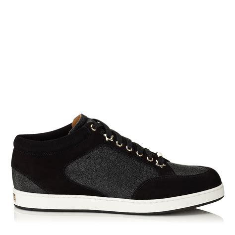 jimmy choo sneaker jimmy choo miami in black black black lyst