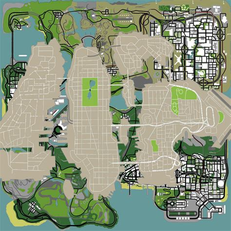 san andreas map gta 4 vs san andreas map picture ebaum s world