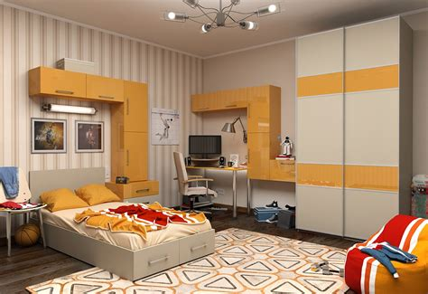 Bedrooms Painted Yellow by Bedroom Glorious Storage Wall Units For Bedrooms Painted