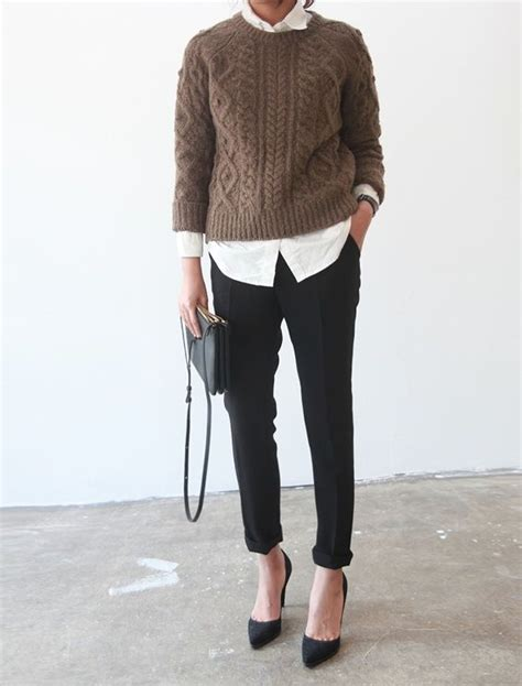 comfortable fashion stylish women office worthy outfits for winter 2014 2015 3