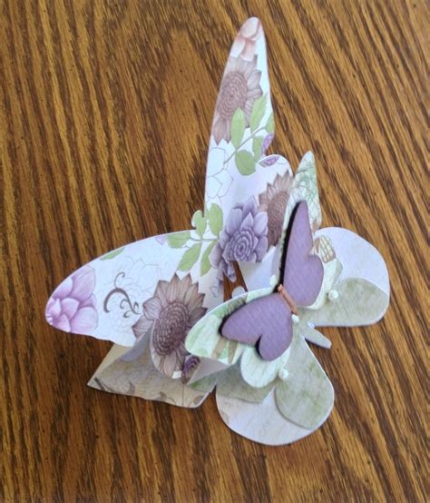 butterfly easel card template butterfly easel card make the cut forum