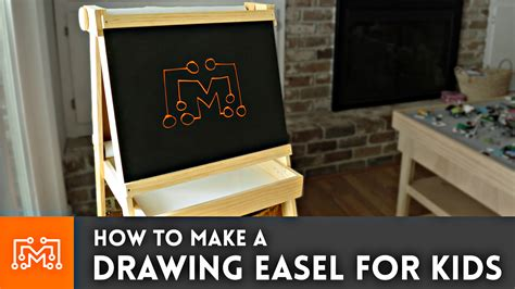 How To Make A Paper Easel - how to make a easel with paper chalkboard and