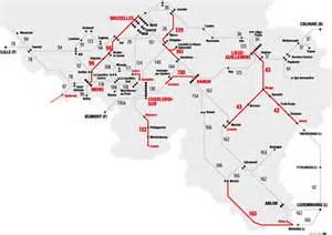 la nouvelle carte des lignes de chemin de fer la dh