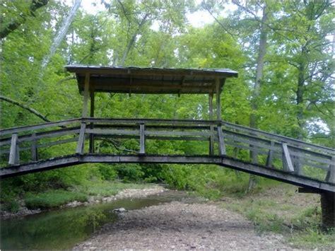 wooden bridge pine knob ky redgage