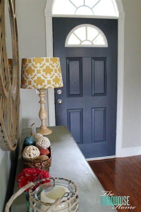 paint  interior door hale navy painted