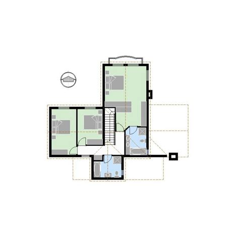 Cp0226 2 3s3b2g House Floor Plan Pdf Cad Concept Plans 2 Floor House Plans Autocad