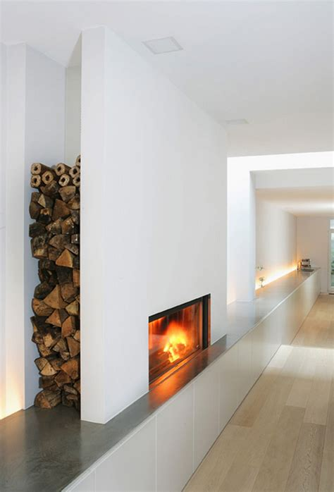 Fireplace Wood Logs by Wood Logs Compartment For Fireplace Yourfire