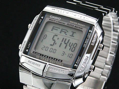 Jam Tangan Casio Data Bank Db 360g data bank djaloe07shop