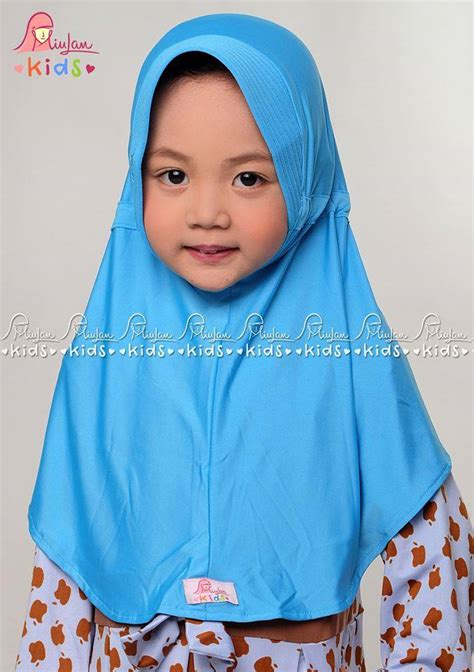 Mukena Anak Diandra Yellow plain turkish miulan boutique