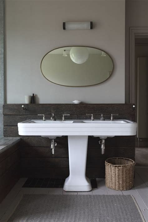 double sink basin for bathrooms 20 sweet bathrooms with pedestal sinks messagenote