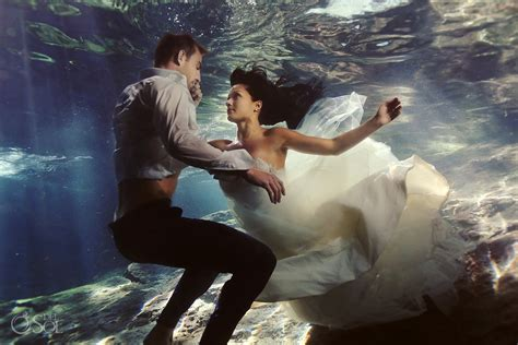 trash the dress riviera maya photography cenote and beach trash the dress