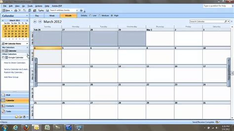 G Calendar Sync Syncing A Calendar With Microsoft Outlook