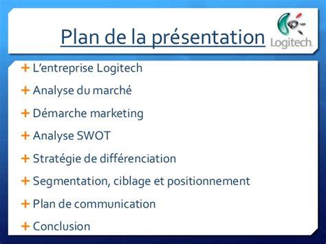 Présentation Lettre Entreprise Pr 233 Sentation Powerpoint Logitech