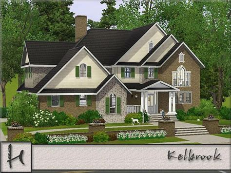 Mod The Sims Big Family Small Budget 5 Sims 3 Family Mansion Www Pixshark Images