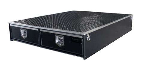 truck bed storage boxes truck bed secured storage drawer systems