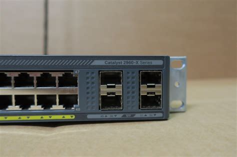 l with switch on base cisco catalyst ws c2960x 48ts l 48 gige 4 x 1g sfp lan