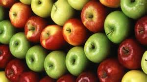 colorful apples apples fruit wallpaper