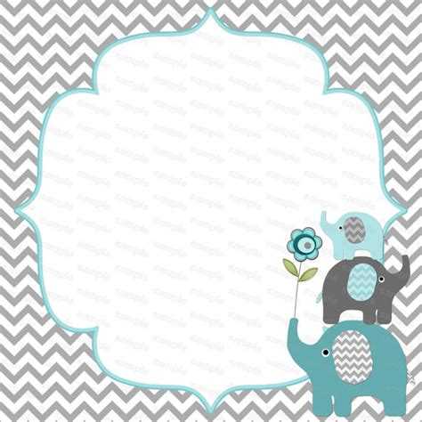 baby shower invites elephants unavailable listing on etsy