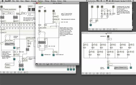 computer keyboard tutorial software max msp tutorial 1 using your computer keyboard as