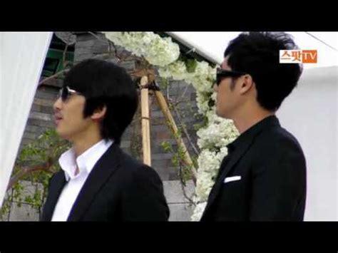 so ji sub and song seung heon 2010 05 02 song seung heon so ji sub at jdg s wedding