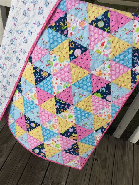 Complete Quilt Kits baby handmade quilt using wildflower