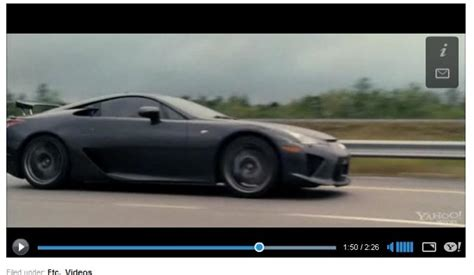lexus lfa fast five gray lfa spotted on fast furious 5 fast five