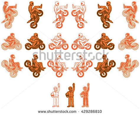 orange color variations fighter vector material free vector 4vector