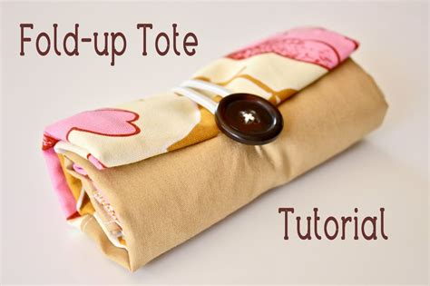 pattern for fold up tote bag zaaberry tutorials
