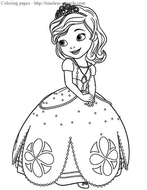 princess sofia coloring pages online princess sofia coloring page