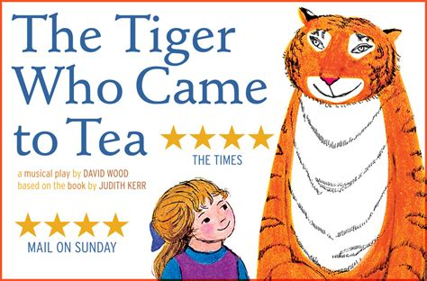 the tiger who came the tiger who came to tea images soho london londontown com
