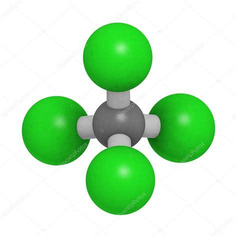 Stock Photos, Royalty Free Photography, High Resolution ... Carbon Tetrachloride Molecule