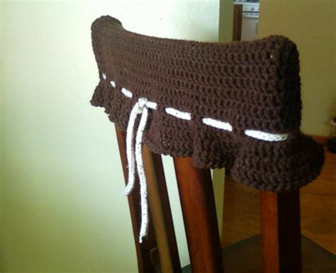 wall chair protector crochet with cris kitchen chair topper wall protector