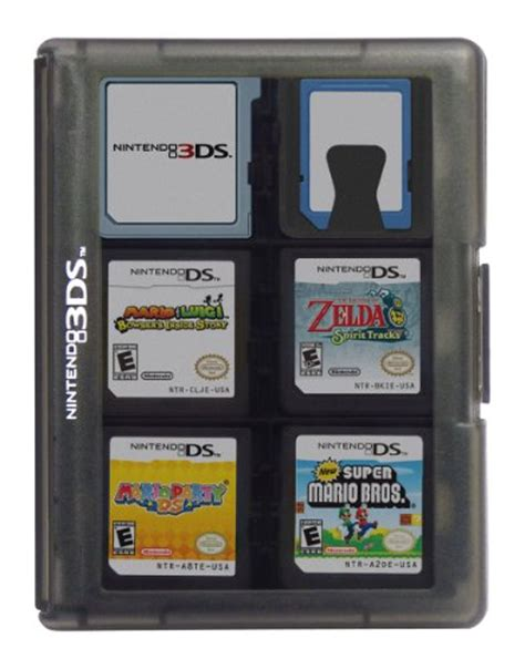 3ds Gift Card Amazon - nintendo 3ds game card case 24 black buy online in uae video game products in