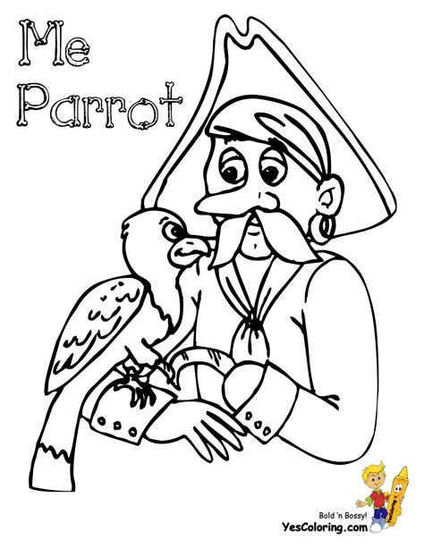 scurvy pirate coloring pages pirates pirate costume